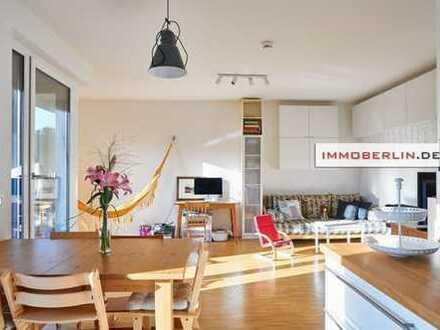 IMMOBERLIN: Wie Neu! Wohnung mit Balkon & Westloggia
