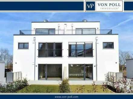 Hochwertige Neubau-Erdgeschosswohnung mit Terrasse in Nördlingen