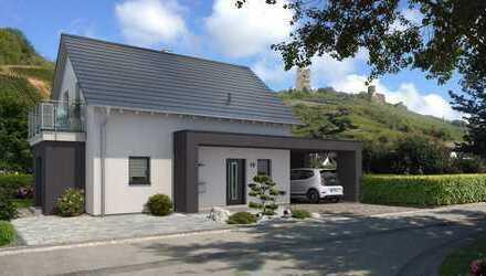 *Sonniges Baugrundstück *Haus in KFW 55* Ausbauhaus