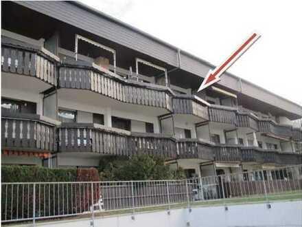 Gepflegte 2-Zimmer-Wohnung mit 2 Balkonen und Einbauküche in Baden-Baden-Oos