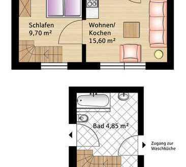 1,5 Zimmer Wohnung in Geltendorf