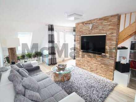 Neuwertige und moderne 3,5-Zi.-Maisonette mit hochwertiger Ausstattung & 2 Balkonen in ruhiger Lage