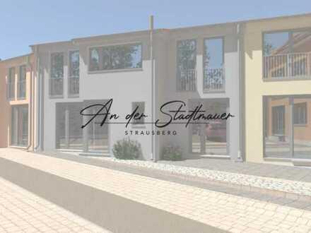 """WE8 vier Zimmer Maisonette Wohnung im Neubauprojekt """"An der Stadtmauer"""" in Strausberg"""