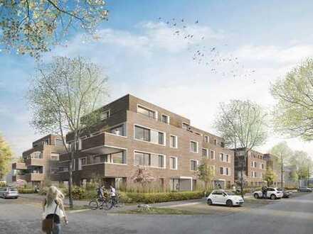 Penthouse-Neubauwohnung in Erstbezug mit 2 Terrassen in Krefeld-Oppum