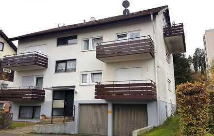 RESERVIERT*Vermietete Dachgeschosswohnung mit zwei Balkonen in Nagold