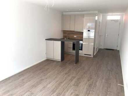 Zentrumsnahe, helle 1-Zimmer-Wohnung mit hochwertiger Einbauküche und Garagenplatz (provisionsfrei)