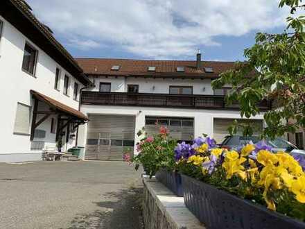 Schöne, gemütliche 5-Zimmer Wohnung auf 2 Etagen zu mieten + große Garage / Werkstatt