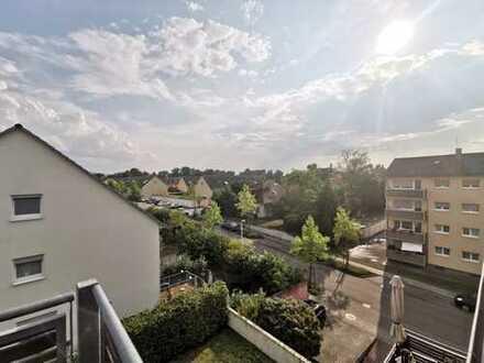 Ab sofort FREI ! Seltene 2 Zimmerdachgeschosswohung mit großem Balkon in guter Lage in Rastatt