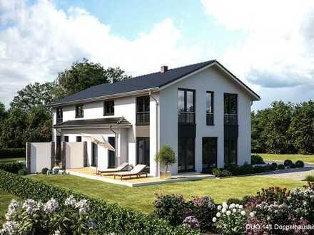 Sehr schöne Doppelhaushälften mit je 141 m² Wfl. (DIN 277)