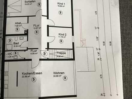Schöne, modernisierte 5-Zimmer-Wohnung zur Miete in Gäufelden