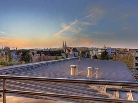 Rarität - Exklusive Penthousewohnung am Altstadtrand für 5-er oder 6-er WG