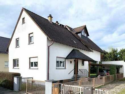 Freistehendes 1-2 Generationenhaus in ruhiger Wohnlage von Babenhausen!