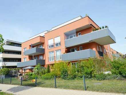 Moderne 3-Zimmer Eigentumswohnung in Neu-Ulm/Wiley mit Gartenanteil