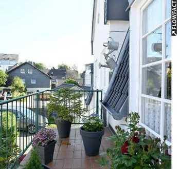 Traumhaft schöne 91 qm große ETW mit 2 Balkonen. Im Ortskern von Dabringhausen.