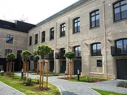 """""""Jute-Lofts"""": Sonnige Maisonette-Wohnung mit Galerie und Süd-Gartenterrasse"""