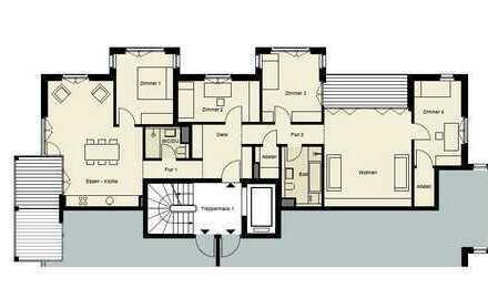 Jetzt reservieren! 0172-3261193, 5 Zimmer, Gästebad, Balkon, Abstellraum, Sauna, Lift, Tiefgarage