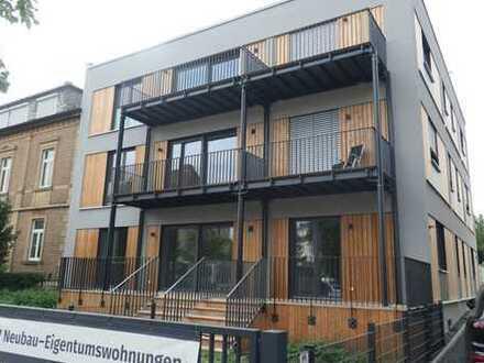 Erstbezug mit Terrasse und Garten: schöne 3-Zimmer-EG-Wohnung in Kitzingen