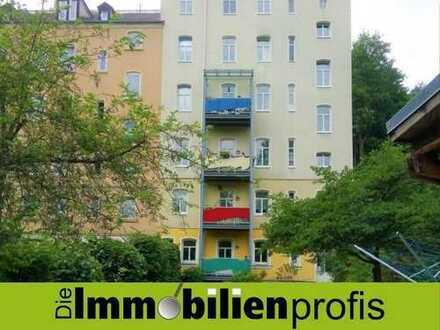 Zentral gelegene 3-Zimmer-Wohnung in hübschem Altbau Nähe Saaleauen in Hof