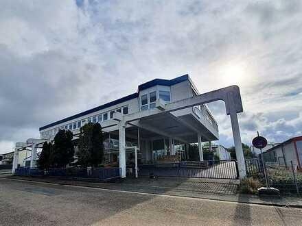 +++Ebenerdige Gewerbehallen mit Bürogebäude im Industriegebiet +++