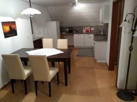 Gepflegte 4-Zimmer-Dachgeschosswohnung mit Einbauküche in Bad Saulgau