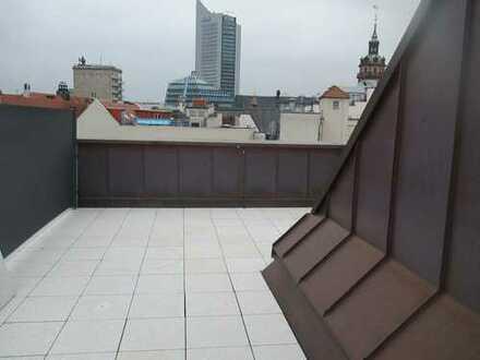 3-Raum Maisonette-Wohnung mit Dachterrasse