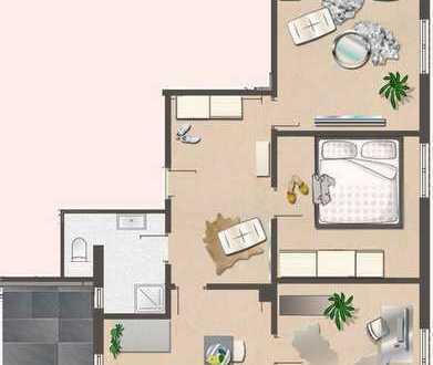 Großzügige 3 ZKB Wohnung zu vermieten !