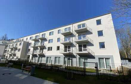 Herrlich sonnige 2-Zimmer-Wohnung mit Balkon in Komfort-Wohnanlage mit Fahrstuhl in Kanalnähe!