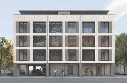 Neuwertige 2-Zimmer-Penthouse-Wohnung, barrierefrei mit Balkon und EBK in Kornwestheim