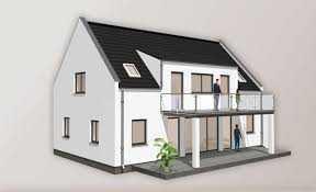Neubauprojektierung: Schöne DG Wohnung im ZFH mit Dachterrasse und Gartenanteil!