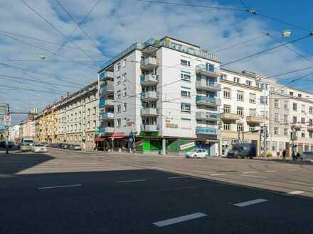 Attraktive Stadtwohnung für Singles mit Balkon