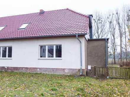 ☆ ☆ ☆ ☆ ☆ 4-Raum-Wohnung mit bebaubarem Grundstück in Liepgarten-5 Minuten bis Ueckermünde ☆ ☆ ☆ ☆ ☆