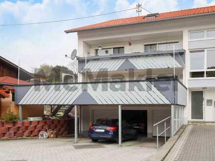 Modern und familienfreundlich: 4-Zi.-Wohnung mit Balkon und Garage in ruhiger Lage nahe Kempten