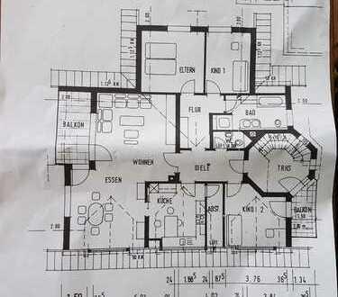 Schöne vier Zimmer Wohnung in Schwäbisch Hall (Kreis), Crailsheim