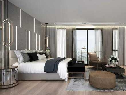 Großzügige 4-Zimmer-Wohnung mit Balkon und Panorama-Fenstern in begehrter Halbhöhenlage