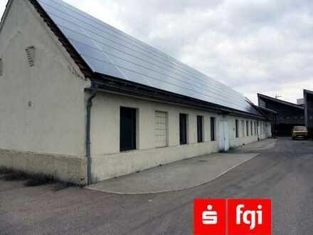 Lagerhalle / Werkstatt