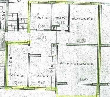 * Gepflegte 4-Zimmer-Wohnung mit großem Balkon in Weingarten! *