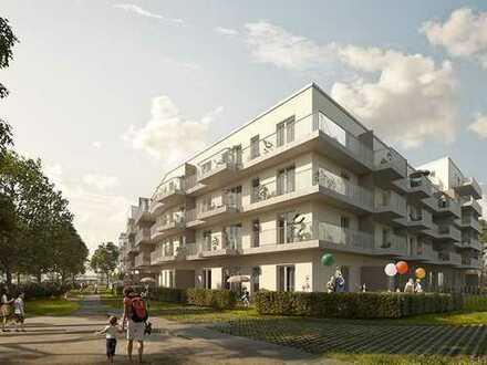 Hier haben Sie alles in bequemer Reichweite! 2-Zimmer-Wohnung mit Balkon in einer naturnahen Lage