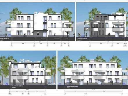 WE 02 Erstbezug, zentral gelegene 2 Raum Wohnung mit Terrasse