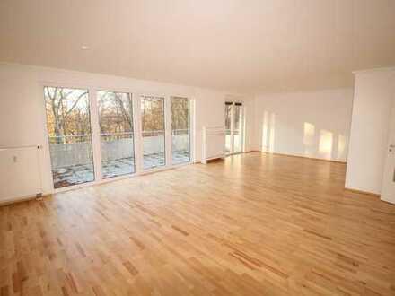 WOHNEN IN LUDENBERG: Helle 4 Zimmer-Wohnung mit grossem Balkon & Waldblick!