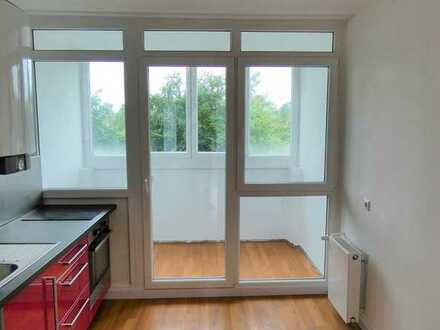PROVISIONSFREI! 2-Zimmer-Wohnung im Stadtgebiet von Karlsruhe u. dennoch direkt am Waldrand gelegen