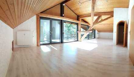 Helle 3 Zimmer Wohnung mit Dachterasse, ca. 120 m² in Wenzenbach