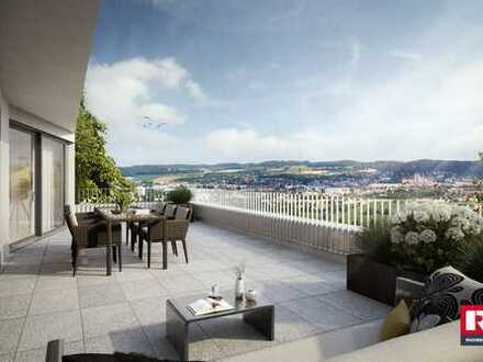 Aussicht pur 3,5 Zimmer, 99 m² Wfl.mit großer Balkon