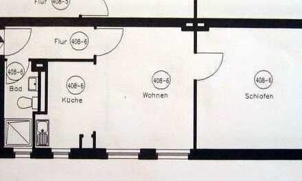 Nähe Fachhochschule, günstig, hell, freundlich, 1 Zimmer, Wohnküche, Duschbad