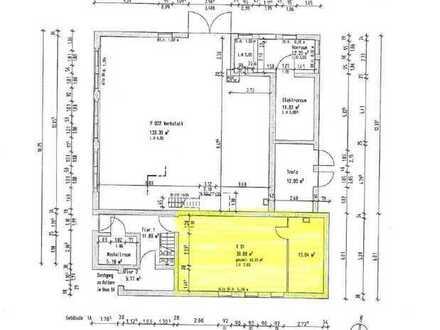 Kellerraum im Gebäude 1B