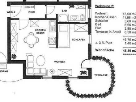 Attraktive 1,5-ZimmerWohnung mit Einbauküche zu vermieten