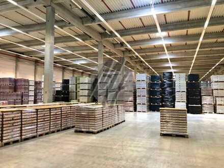 NÄHE BAB ✓ Lager-/Produktionsflächen (900 m²) & Büro-/Sozialflächen (170 m²) zu vermieten