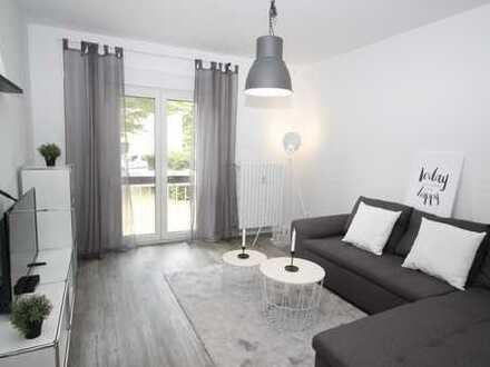 *City-Apartment mit Rheinblick* 2 Zimmer-Wohnung möbliert inkl. W-Lan & TV & Strom