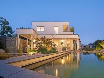 Innovative Immobilie mit See- und Gebirgsblick in Bestlage von Pöcking