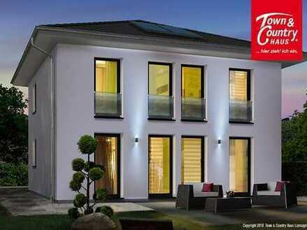 Das stilvolle Stadthaus von Town & Country Massivhaus Unna