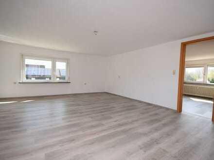 Gepflegte, sonnige 3-Zimmer-Wohnung mit Loggia und großem Garten in Göttingerode...